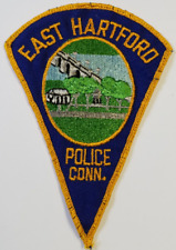 East Hartford Connecticut Police Cloth Patch