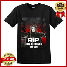 RIP Joey Jordison Slipknot 1995-2021 Anniversary T-Shirt Legend Unisex Tee S-5XL