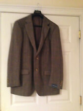 Harris Tweed Men's 100% Wool Two Button Blazers & Sport Coats