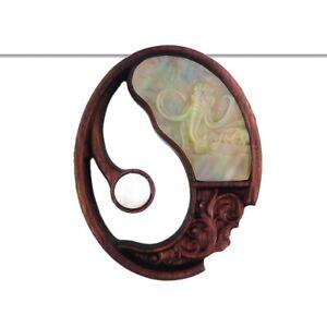 Carved Elephant MOP Designer Bead GG846003