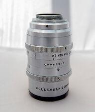 "Wollensak cine raptar  2"" 50mm F/1.5 objectif lens C mount micro 4/3"