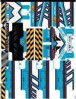 Lego Technic 42070 6x6 All Terrain Tow Truck Sticker Sheet Decals Transfers NEW