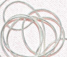 STERLING SILVER 925, SNAKE CHAIN 1 MM  X 20 INCH,, SPRING RING CLASP