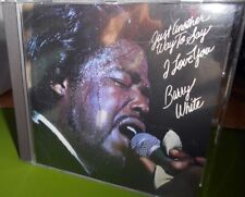 RARE OOP Barry White Just Another Way To Say I Love You CD German Press 5321662