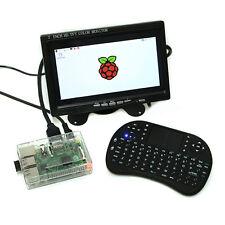 For Raspberry Pi 3 Board + 7 inch LCD Monitor + 2.4G Keyboard Set