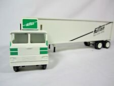Winross 1988 Fulton Carriers White 7000 Cargo Truck