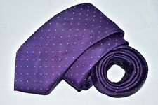 Men's J.Crew Purple 100%Silk Neck Tie made in USA