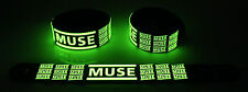 Muse NEW! Glow in the Dark Rubber Bracelet Wristband Madness gg235