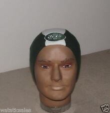 New York Jets Football NFL Uncuffed Striped Winter Knit Hat Beanie Style New