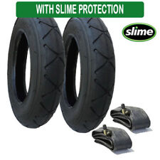Mountain Buggy Swift Tyres & Inner Tubes Set of 2 size 10 x 2 Slime Protected