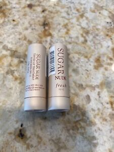2x NEW travel size Fresh Sugar Nude tinted lip treatment