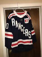 NEW Henrik Lundqvist #30 New York Rangers Stitched Jersey Mens Medium WITH TAGS