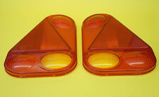 FREE UK Post - LH & RH Replacement Lens for Radex 2900 Rear Trailer Lamp