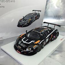 1/18 TSM #TSM151812R McLaren MP4-12C GT3 2014 Total 24 Hrs of Spa Boutsen