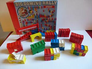BIG DOMINO RALLY 400 VINTAGE ANNI 70 PLASTIC 400 PEZZI + 38 PEZZI