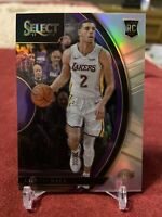 LONZO BALL 2017 PANINI SELECT ROOKIE SILVER PRIZM RC CARD! #28 Invest 🔥📈🔥