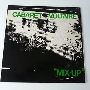 Cabaret Voltaire - The Mix-Up - Vinyl LP UK 1st Press Rough Trade
