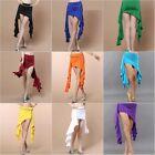 Belly Dancing Skirt Wave Slit Skirt/Dress 12 color Milk Silk Wave Style H44