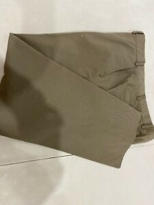Hiltl Men's Solid Gray Dress Pants 37X28 $195