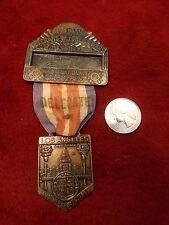 #25 of 47, OLD VTG VFW MEDAL/RIBBON, 60th NATIONAL ENCAMPMENT, 1959 LOS ANGELES