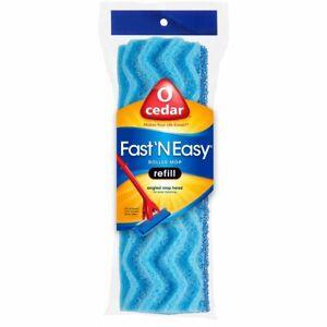"O'Cedar Fast N' Easy Roller Mop Head Sponge Refill 8.5"" for Vileda, Quickie Auto"