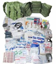 Military M17 Medical Bag - Full Kit (Lots of supplies)