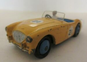 1950's Dinky Austin Healey 100 Competition Racing Car Version - Dinky Toys Cars