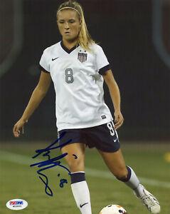 Kristie Mewis Signed PSA/DNA COA 8X10 USWNT USA Women Soccer Photo Auto Olympics