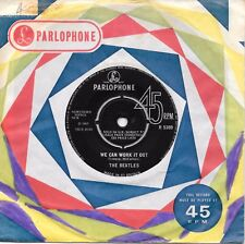 """THE BEATLES - WE CAN WORK IT OUT - 7"""" 45 VINYL RECORD - 1965"""