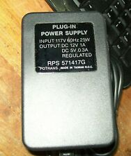 Plug in Power Supply--12V & 5V  -Possibly For External Computer Drive?