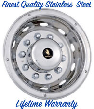 "22.5"" 6, 8 & 10 LUG WHEEL SIMULATOR RIM LINER HUBCAP DEEP REAR DRIVE ONE COVER ©"