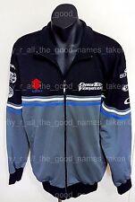 CHRIS VERMEULEN 7 Motorcycle Racer Suzuki Zip Up JACKET Sponser Logo Coat 3XL