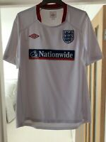 ENGLAND - NATIONWIDE - TRAINING FOOTBALL SHIRT - 1999/02 Vintage Rare, Large.