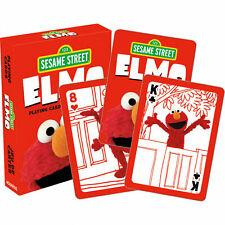 Sesame Street Elmo Playing Cards Pack 52 Card Deck + 2 Jokers NEW