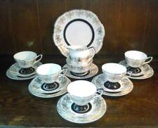 Tea Trio Gold Vintage Original Porcelain & China