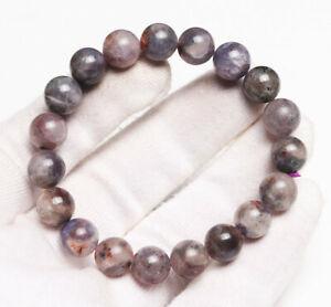 10mm Natural Lolite Cordierite Gemstone Beads Bracelet