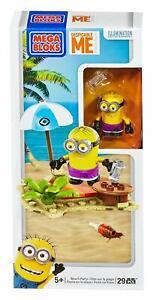 Mega Bloks Despicable Me Minion Made Beach Party Set #94808