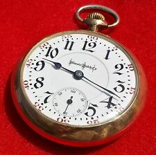 Illinois Antique Pocket Watch A.Lincoln Size 18 21 Jewel Railroad Grade Ca.1910