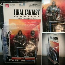 Final Fantasy The Spirits Within RYAN WHITTAKER Action Figure Toy Bandai 2000