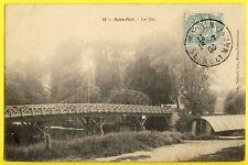 cpa 77 - SEINE PORT (Seine et Marne) Les ILES