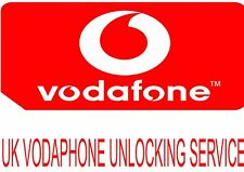 UK VODAFONE iPhone 6 5s 5c 5 4s FACTORY UNLOCKING SERVICE (24 - 72 hours)