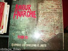 """LEO FERRE'  """"AMOUR ANARCHIE QUANDO LA CANZONE E' ARTE"""" 1970 BARCLAY BRC60016"""