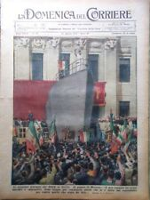 La Domenica del Corriere 22 Agosto 1937 Mussolini Sicilia El Cid Ciclismo Cinema