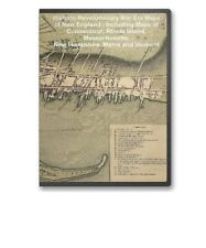 70 Historic Revolutionary War Maps CT MA ME VT RI on CD - B67