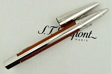 ST Dupont Defi Brown Perforated Leather Convertible Rollerball Pen ST402676