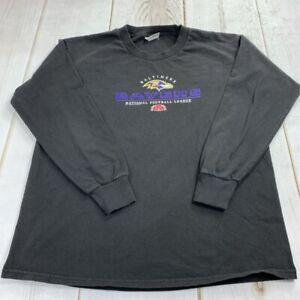 Baltimore Ravens Lee Sport Unisex Medium Long Sleeve Crew Neck PullOver Football