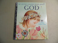 My Little Golden Book About GOD (Little Golden Book 1975) Free Domestic Shipping