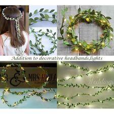 20M Artificial Ivy Vine Leaf Fake Foliage Flowers Garland Hairband Diy Supply