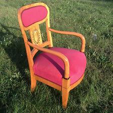 Biedermeier Sessel Kirschbaum Fauteuil Klassizismus Möbel Armchair Furniture