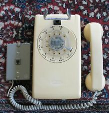 Vintage rotary dial wall phone telephone Bell System Western Electric